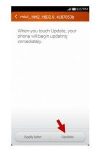 آموزش فلش گوشی های Xiaomi از طریق System Update