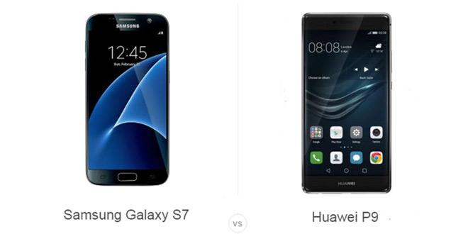 Samsung Galaxy S7 vs Huawei P9