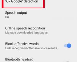 فعالسازی فرمان صوتی گوگل