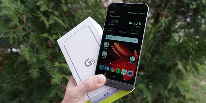 آنباکس ال جی G5