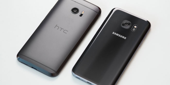 HTC 10 & Galaxy S7