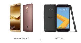 هوآوی Mate 8 و HTC 10
