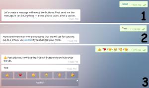 آموزش استفاده از بات لایک تلگرام