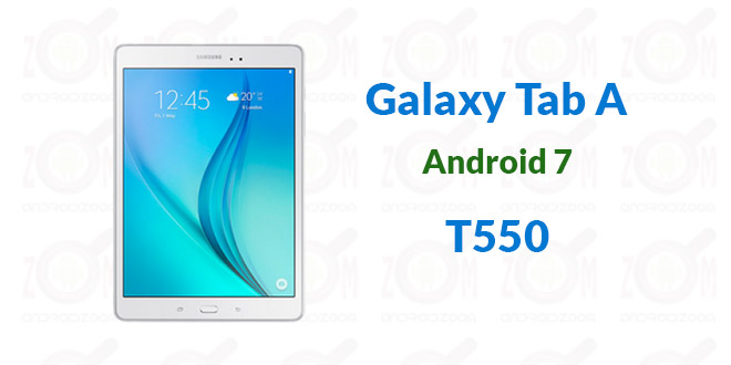 T550 android 7