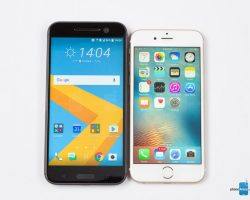 HTC 10 و آیفون 6S