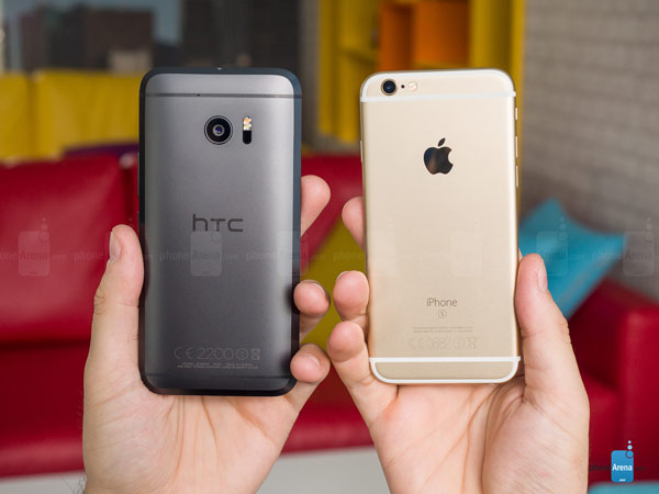 HTC 10 و آیفون 6S