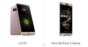 LG G5 و ایسوس ZenFone 3 Deluxe