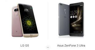 LG G5 با ایسوس ZenFone 3 Ultra