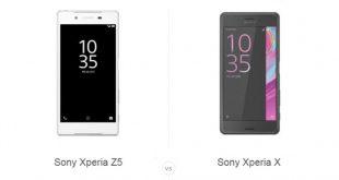 Xperia X و Xperia Z5