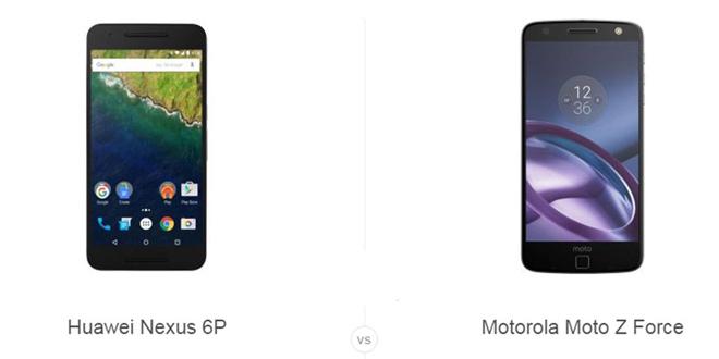 Nexus 6P و Moto Z Force