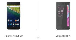 Huawei Nexus 6P و Sony Xperia X