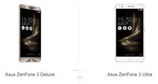 ASUS ZenFone 3 Deluxe و ASUS ZenFone 3 Ultra