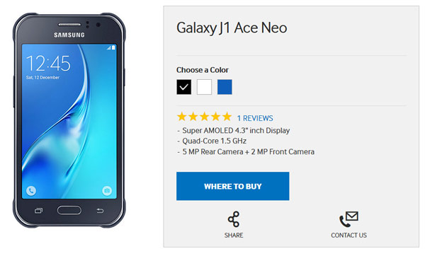 گلکسی J1 Ace Neo