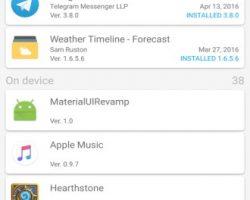 App Watcher - Updates notifier