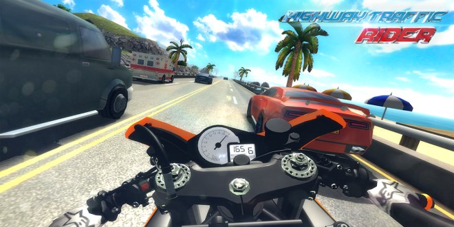 دانلود Traffic Rider موتورسواری اندروید