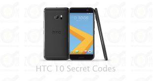 HTC 10 Secret Codes