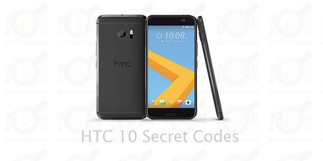 کدهای مخفی گوشی HTC 10