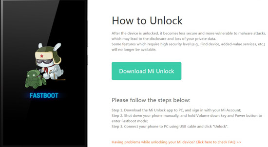 download mi flash unlock