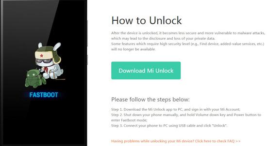 download mi flash unlock