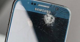 استفاده از گوشی شکسته