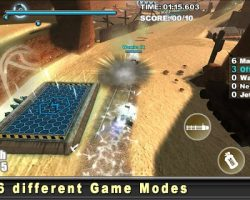 Cracking Sands – Combat Racing
