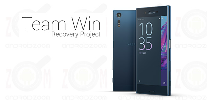 Custom Recovery TWRP for Xperia XZ