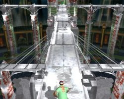 Snow Temple Run