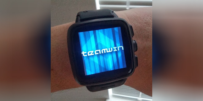 Flash TWRP Recovery on Android Wear Watch