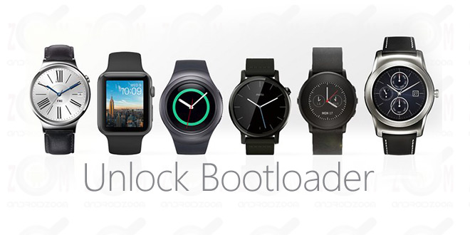 Unlock Bootloader on Android Wear Watch