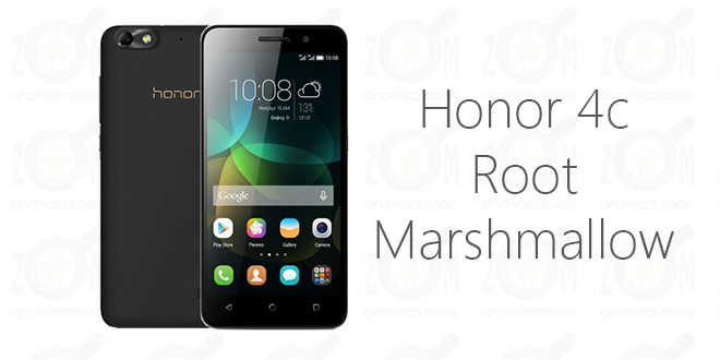 Root Honor 4c and Install TWRP Recovery on Android 6.0