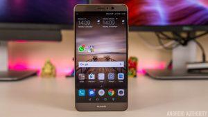 نرم افزار Huawei Mate 9