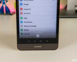 صفحه نمایش Huawei Mate 9