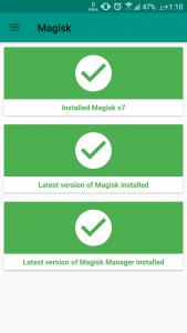 Magisk-install