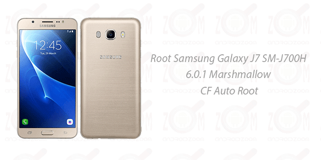 Root Samsung Galaxy J7 SM-J700H 6.0.1 Marshmallow Auto Root