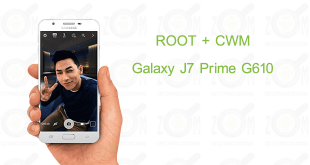how to root and install CWM on Galaxy J7 Prime G610