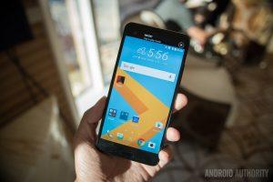 HTC U Ultra front panel