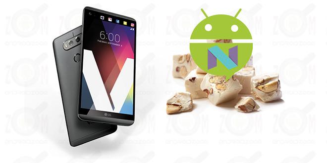 nougat firmware for LG V20