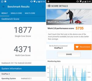 OnePlus 3T performance