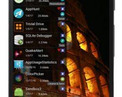 JINA App Drawer & Sidebar