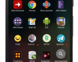 JINA App Drawer & Sidebar