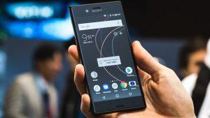 Sony Xperia XZs display