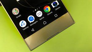 Sony Xperia XA1 display