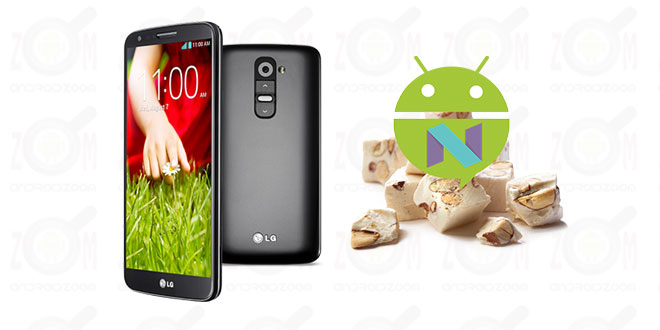 LG G2 Lineage14 Nougat 7.1 ROM