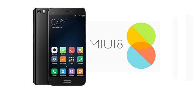 Stock Firmware MIUI 8 For Xiaomi Mi5