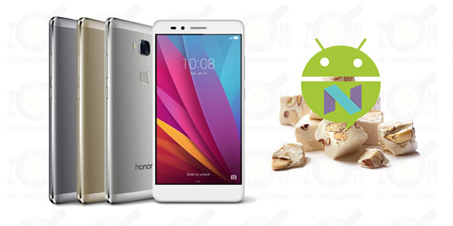 android 7 nougat for honor 5x