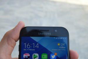 Galaxy A7 2017 Software
