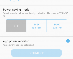 Galaxy A7 2017 Software UI