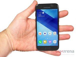 Samsung Galaxy A3 (2017) Design