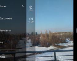 HTC 10 evo Camera UI