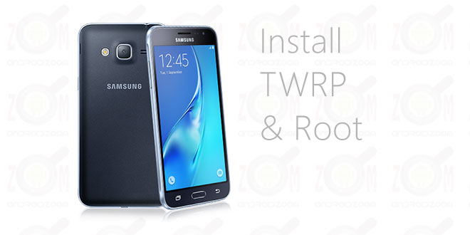 install twrp and root j3 2016